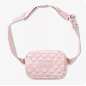 Victoria's Secret Pink Quilted Belt Bag NWT Pink